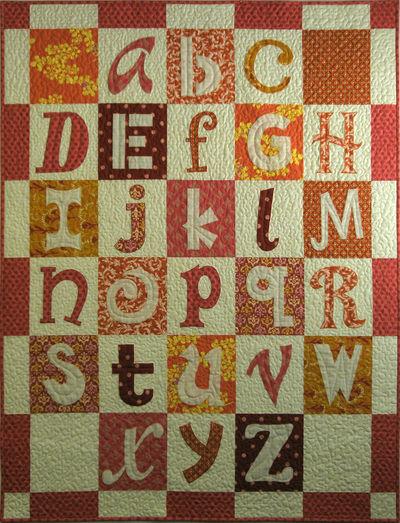 Orange.cream alphabet