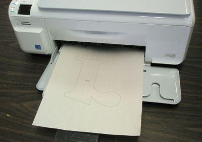 Print letter