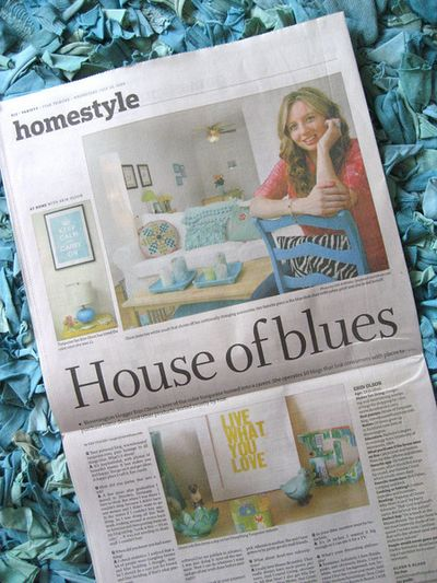Turquoise article