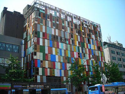 Seoul korea, doors