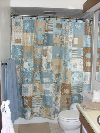 Jen's shower curtain