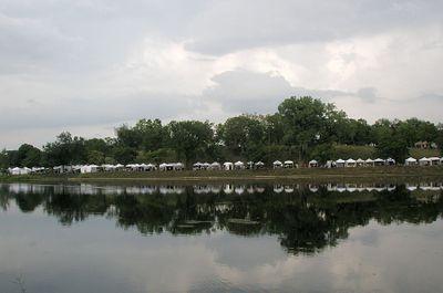 Powderhorn art tents