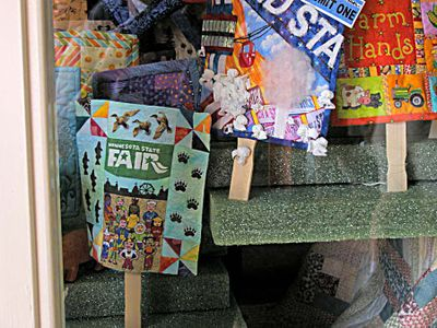 Quilts on a stick