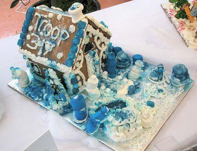 Gb brownie blue house