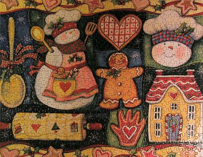 Gingerbread puzzle