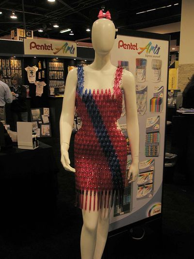 Pen dress