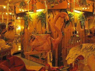 Flamingo carousel