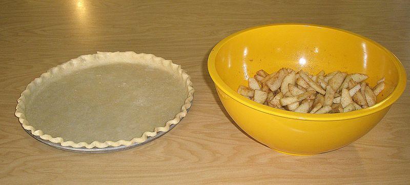 Crust:apples