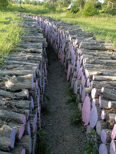 Lavender logs