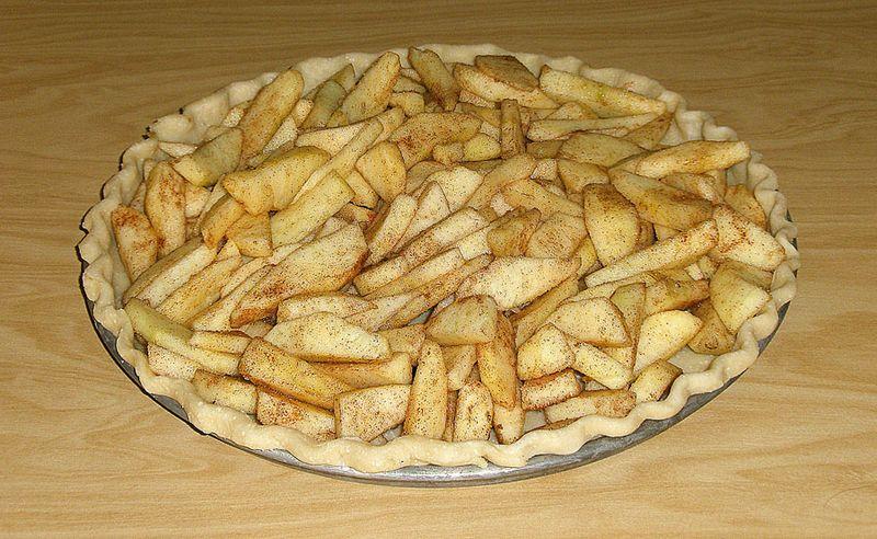 Filled crust