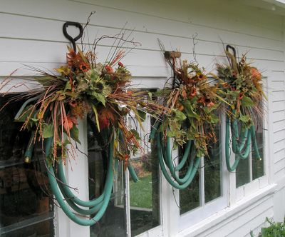 Hose wreaths