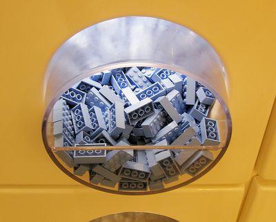 Blue legos