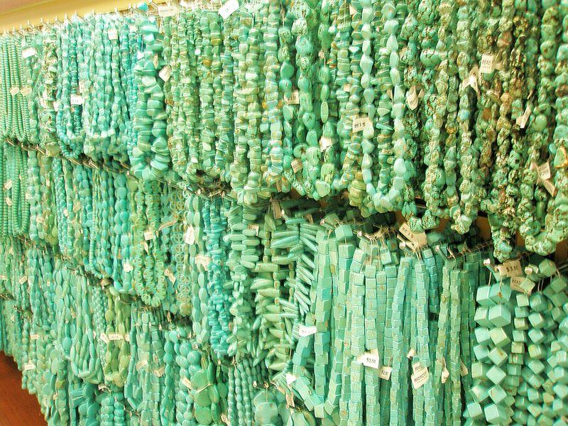 Turq beads