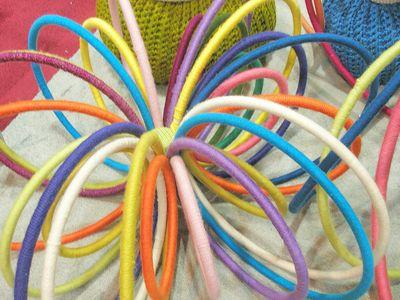 Yarn loops