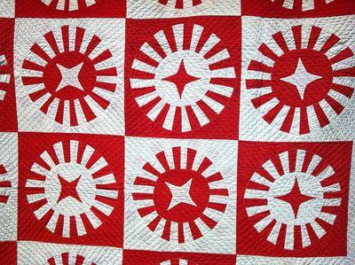 Red:white stars