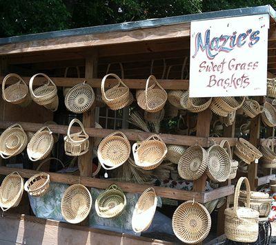 Mazie's Basket Stand