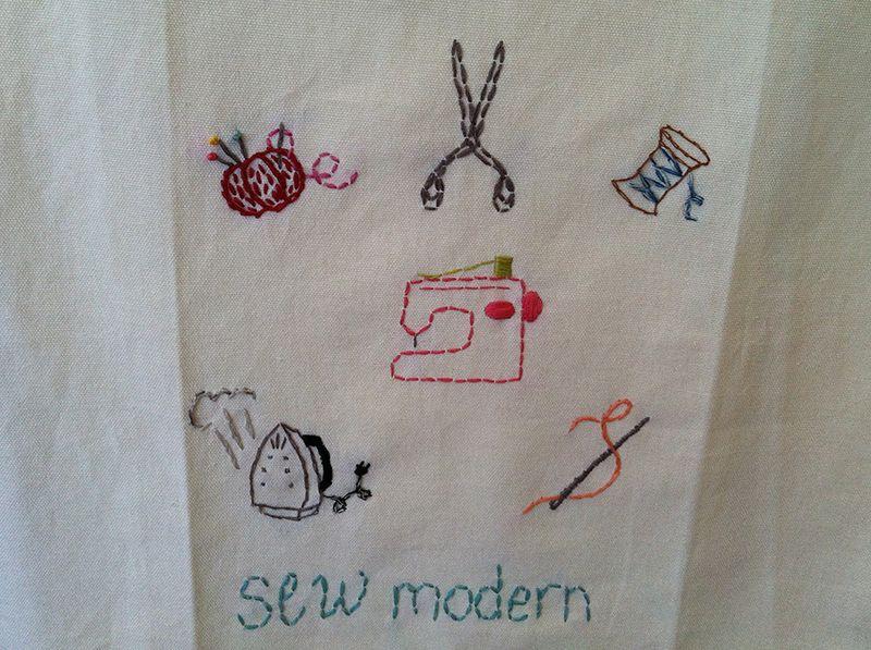 Stitchery sew modern