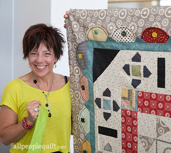 Terri with quilt wm