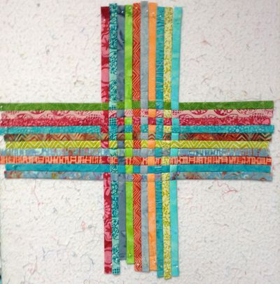 4 weave strips