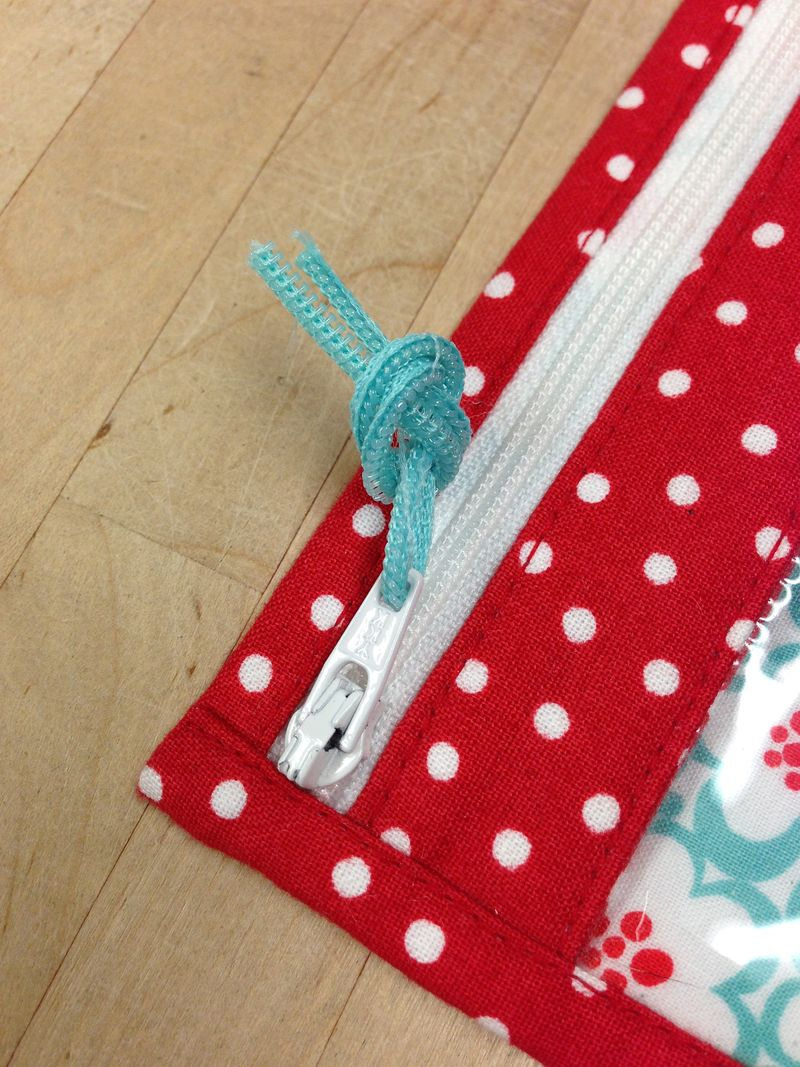 3. bridget tie overhand knot