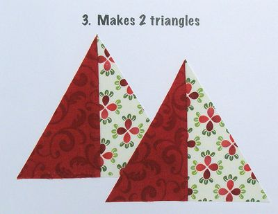 Triangles 3. makes 2